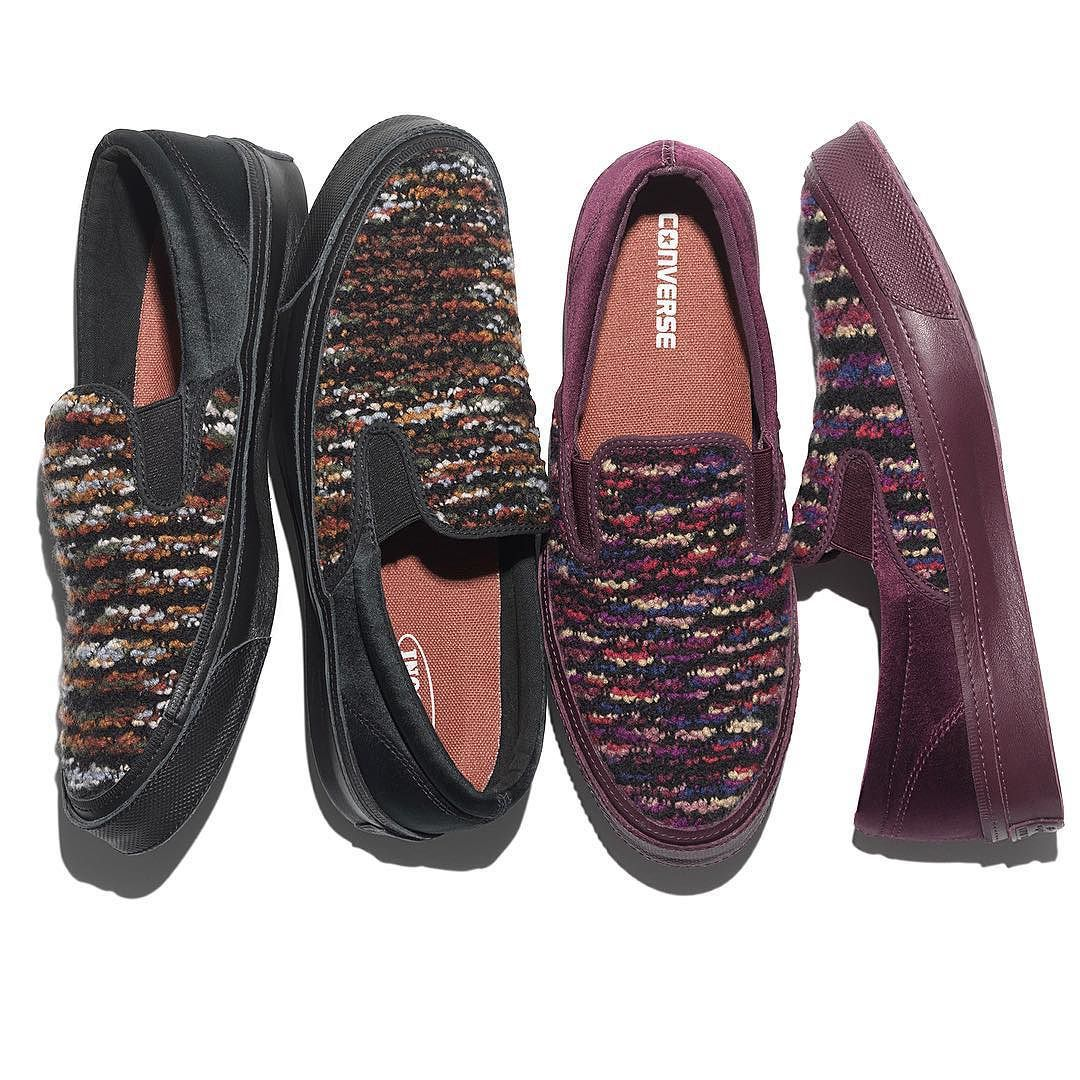 Elevate your style. The Converse Deck Star Slip 67 @missoni