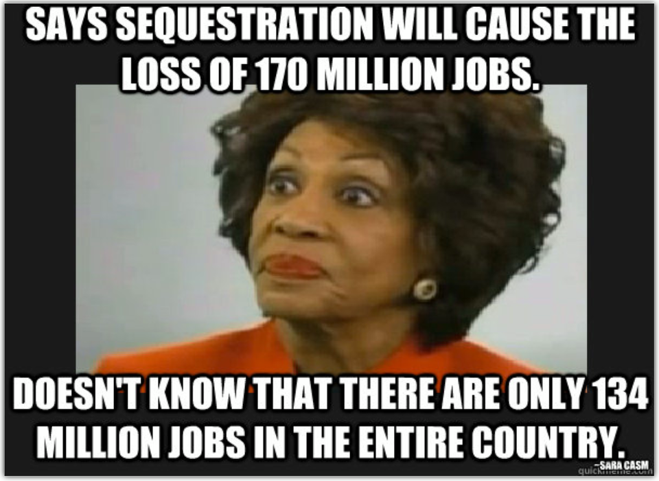 Image result for maxine waters stupid tweets