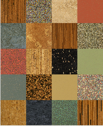 Cork Flooring Colors And Patterns Wide Variety To Choose From To