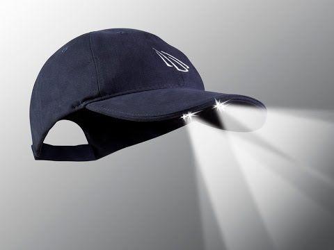 Powercap Led Lighted Cap Hats Baseball Hats Cotton Hat