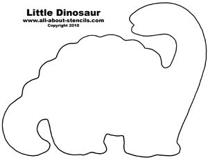 image about Dinosaur Template Printable known as Dinosaur Slice Outs Printables No cost Dinosaur Stencil Strategies