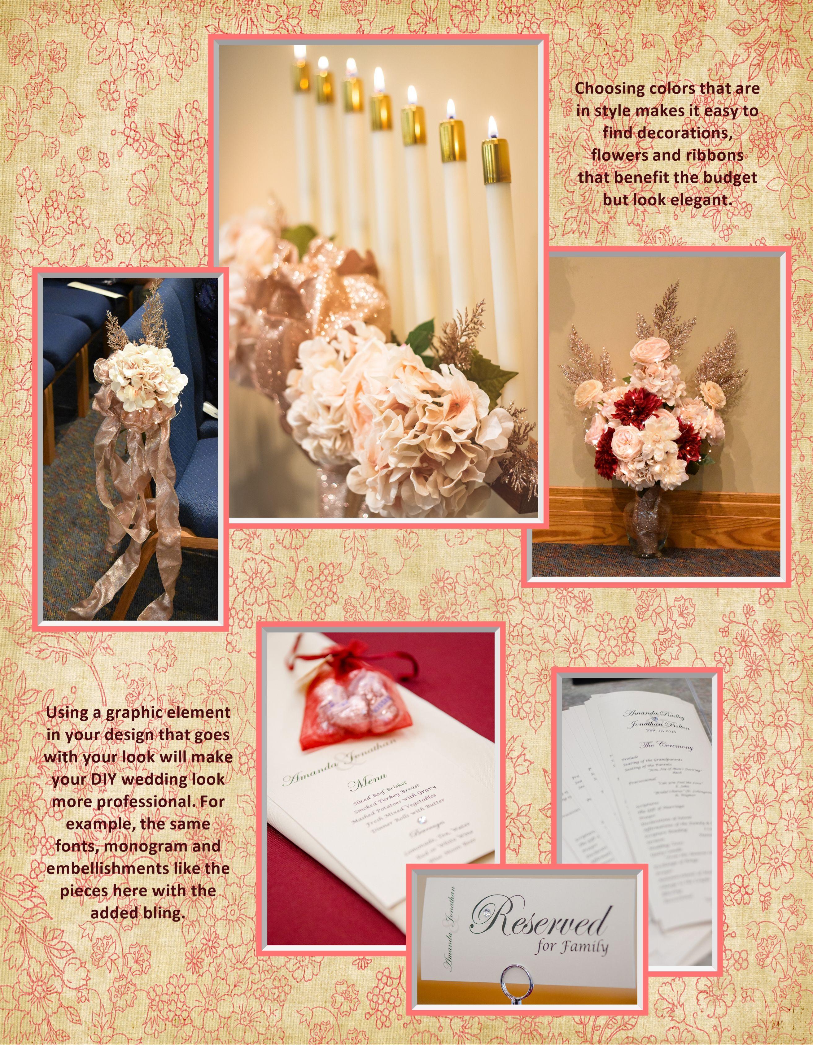Jonathan & Amanda's details | Diy wedding, Wedding book, Wedding looks