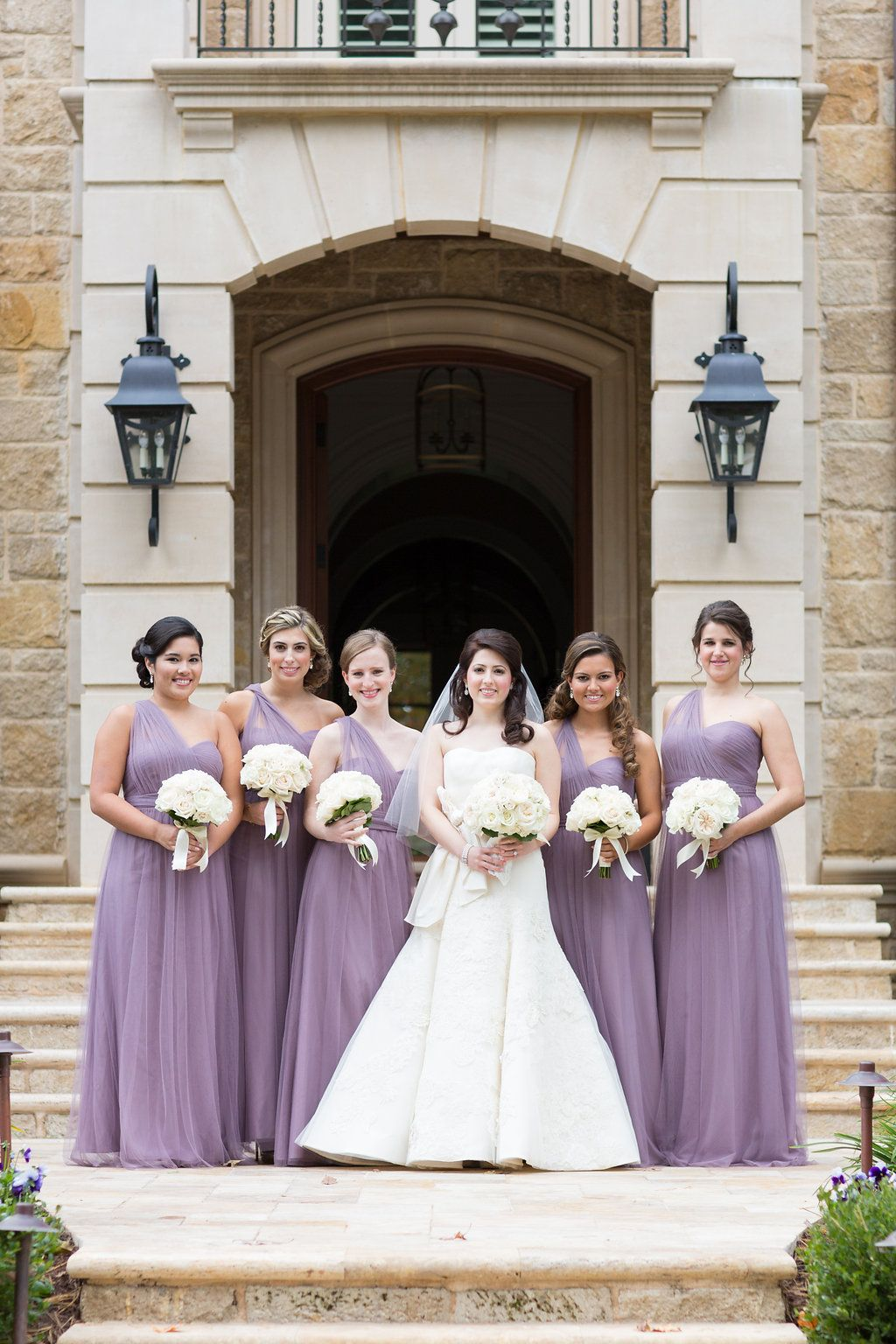 Dusty Purple Bridesmaid Dresses One Should Bridesmaid Gowns All