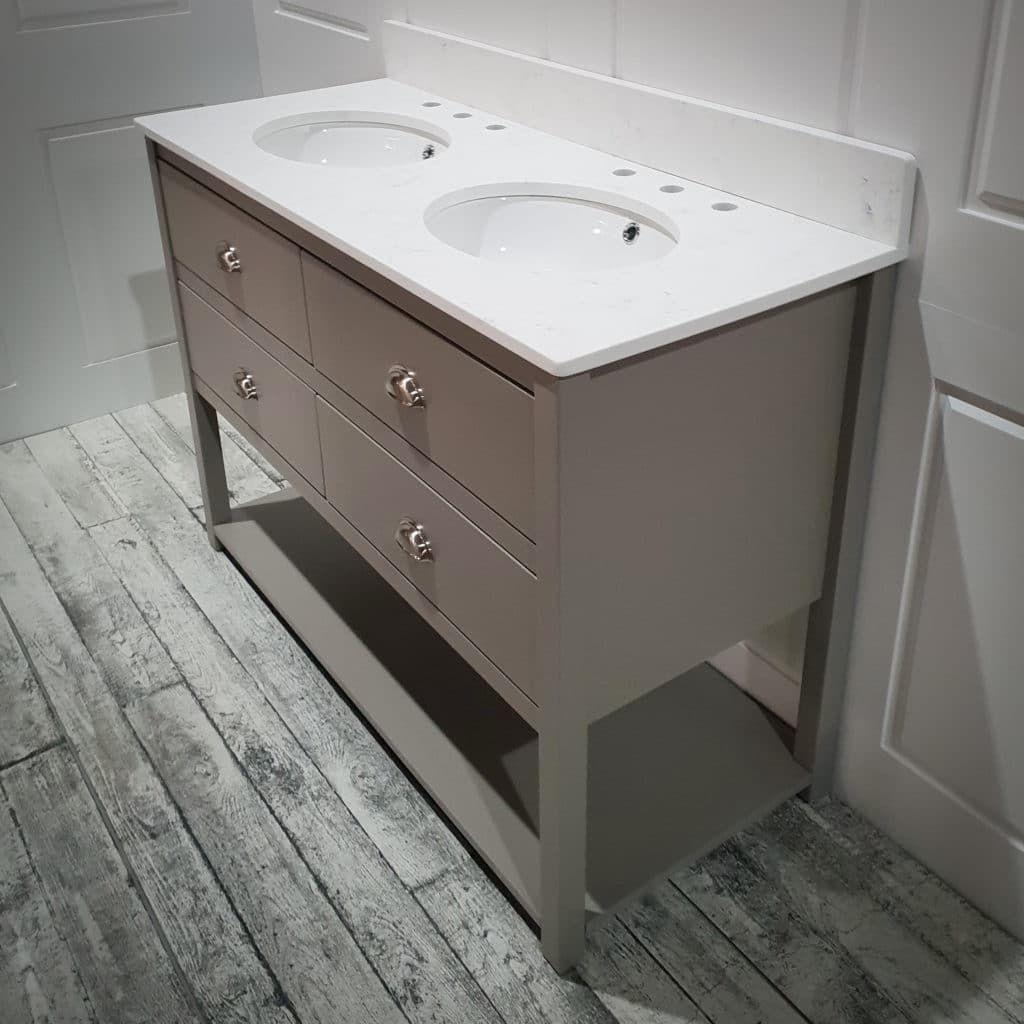 Ava Large Painted Vanity Unit Undermount Basin Harvey George Hand Painted Furniture Kitchens Bedrooms Bathroom Vanity Vanity Units Basin Vanity Unit Painted Vanity Bathroom