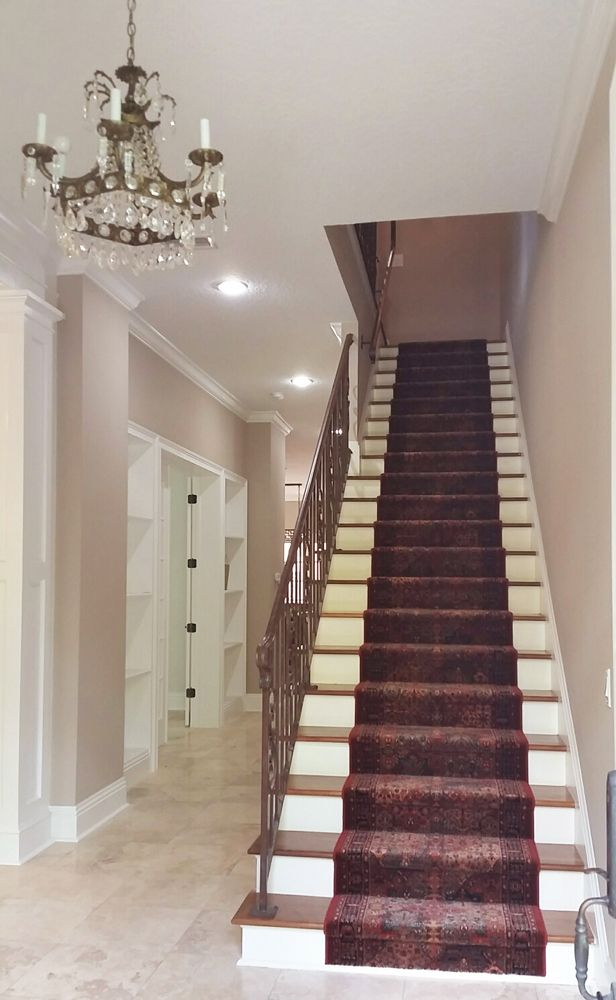 Best Beautiful Red Couristan Wool Stair Runner Adds Life And 400 x 300