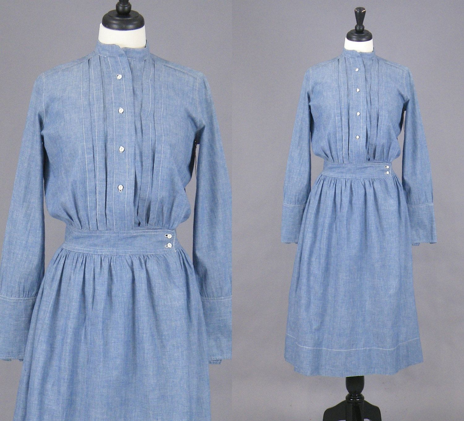 73ed7df46dc Edwardian Work Dress