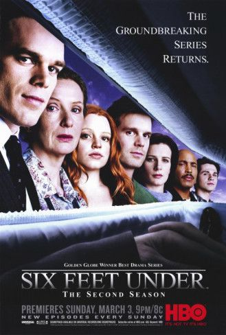 Six Feet Under is easily the 2nd best HBO series when judged