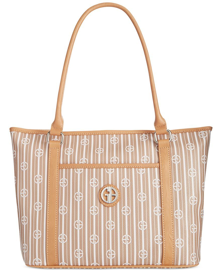 4019c732d3044 Giani Bernini Stripe Signature Tote