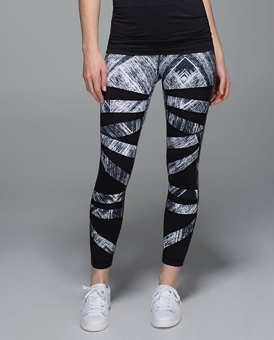 6f4600893bbdd High Times Pant in Heat Wave White Black - I love this pattern ...