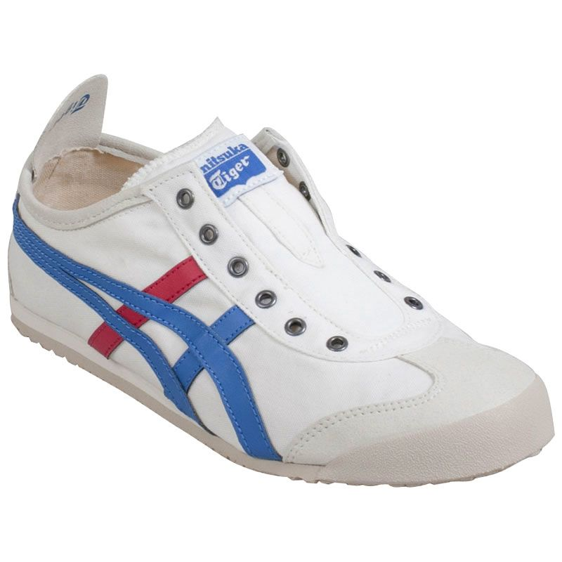 Onitsuka Tiger Unisex Mexico 66 Slip-On Sneaker in White
