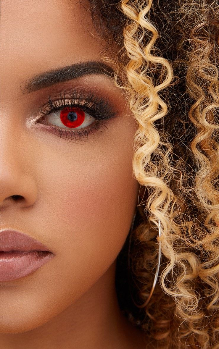 Halloween Red Devil Daily Contact LensesGet your eyes noticed with these red devil daily co...