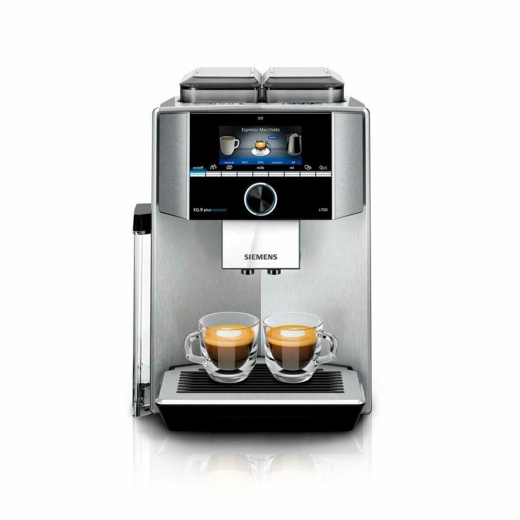 Siemens Ti9575x1de Eq 9 S700 Plus Connect Kaffeevollautomat D40 7 Wa Connection Kitchen Appliances Espresso Machine