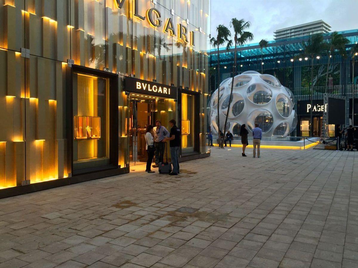 The Design Districtu0027s Palm Court Is Pretty Much Done. Miami OrlandoLuxury  StoreFurniture ...