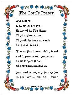 photo regarding Printable Lords Prayer identified as The Lords Prayer Totally free Printable Absolutely free Printable Bible