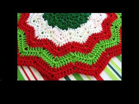 Crochet Christmas Tree Skirt Tutorial - YouTube | Projects to try ...