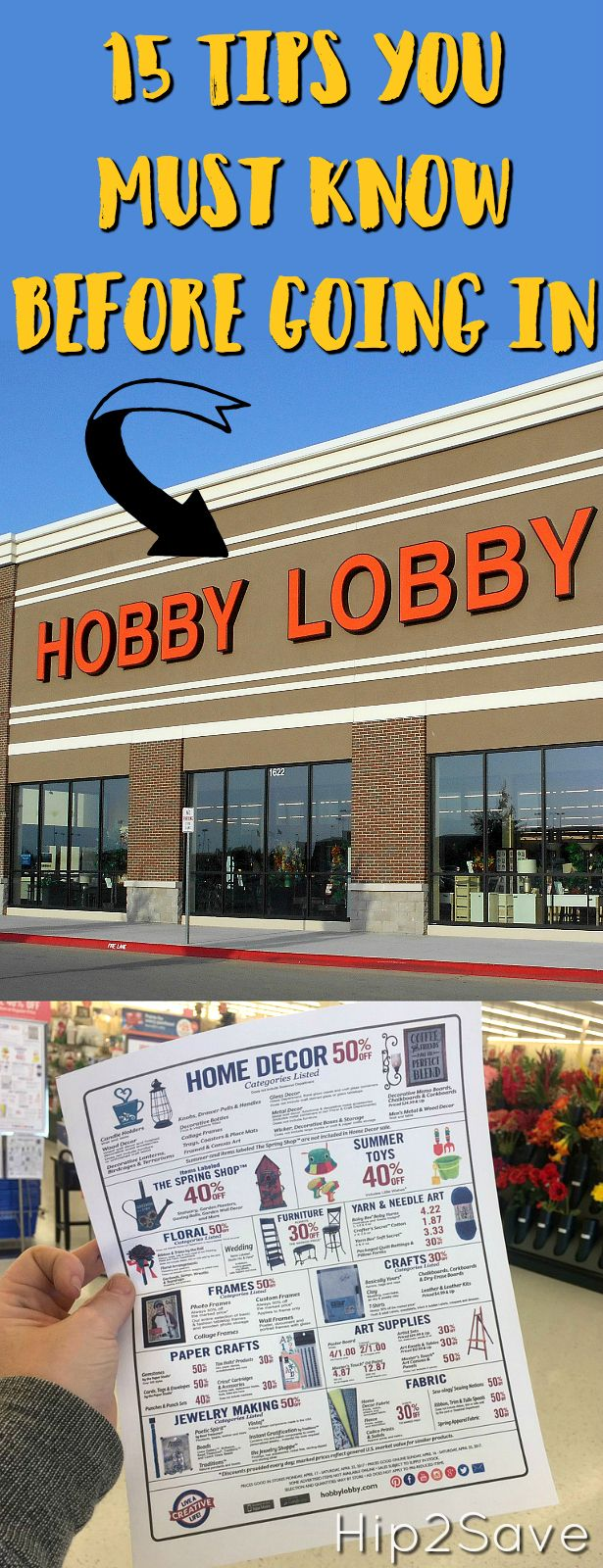 15 of the Best Ways to Save Big at Hobby Lobby Shopping