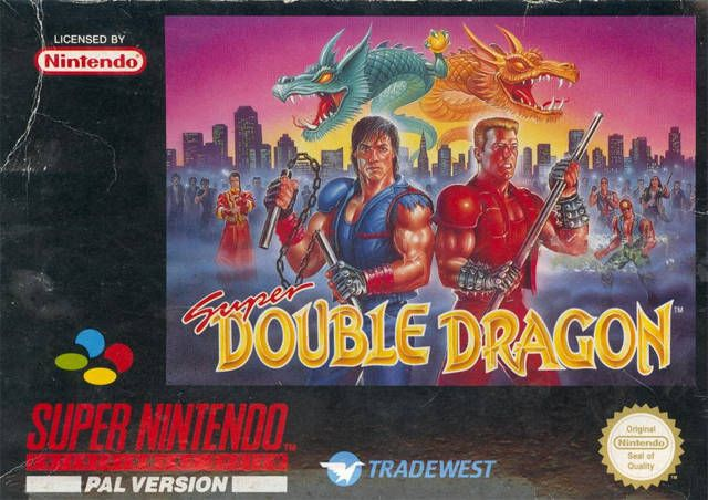 Super Double Dragon Box Shot For Super Nintendo Gamefaqs Super
