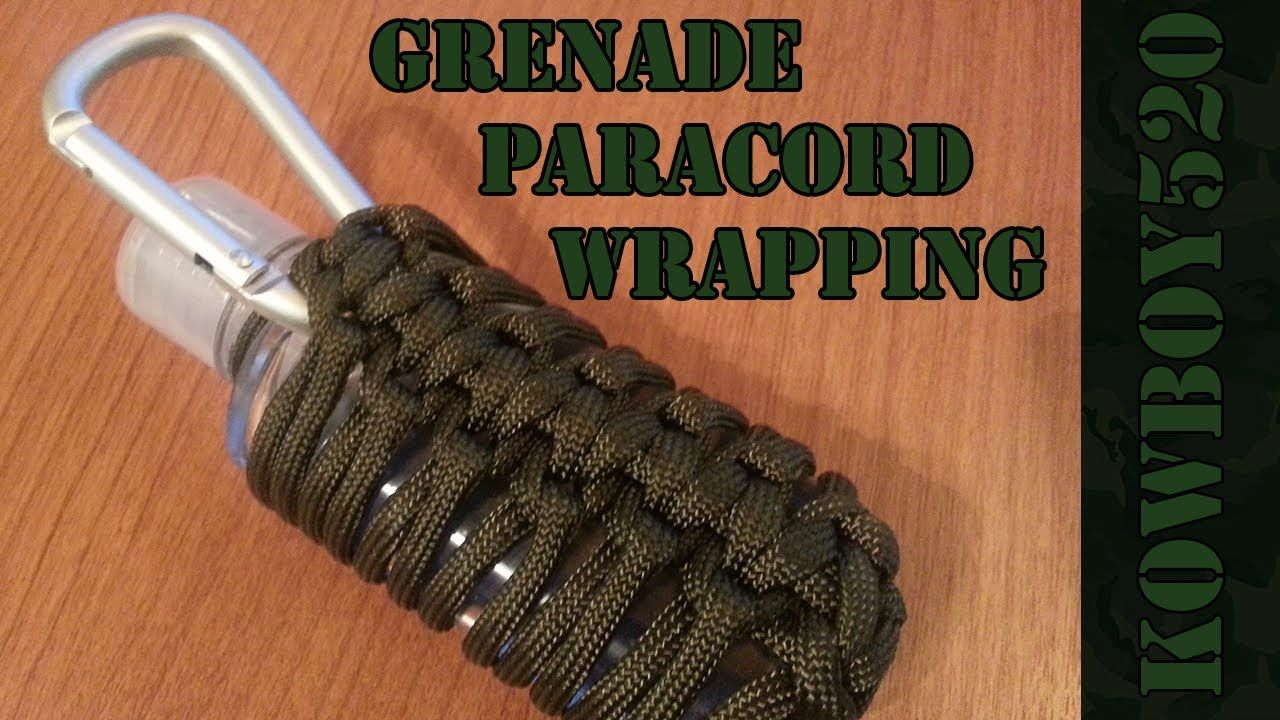 Diy Grenade Paracord Wrapping Germ Grenade For The Boys