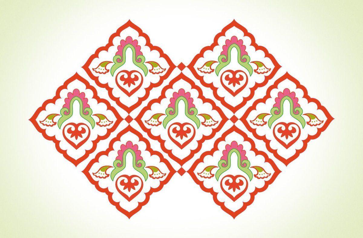 Татарские узоры в картинках