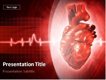 نتيجة بحث الصور عن Cardiology Powerpoint Slides Ppt Template Templates Downloads Powerpoint Template Free