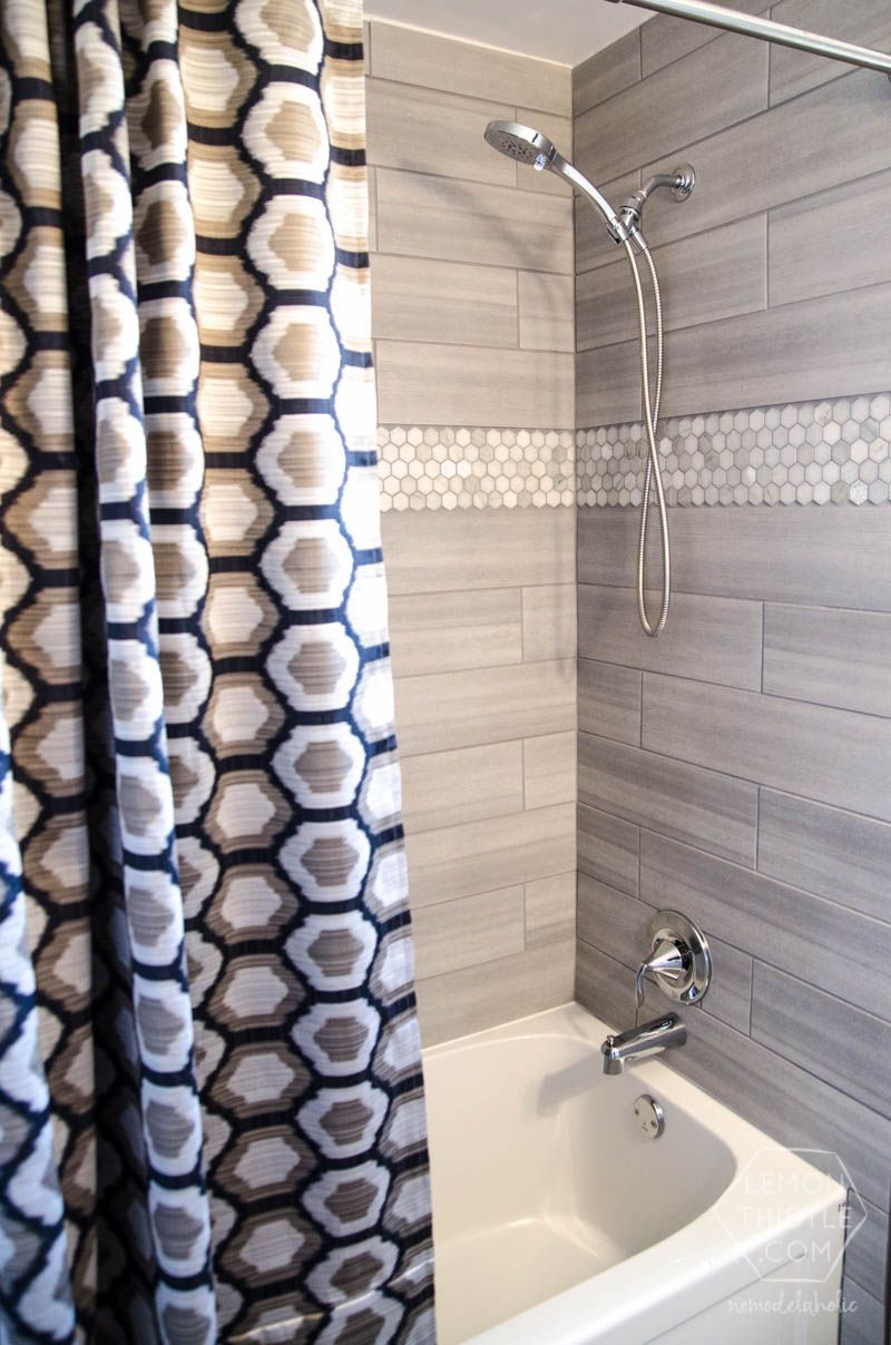 Bathroom Remodel Gray Tile diy bathroom remodel on a budget (and thoughts on renovating in