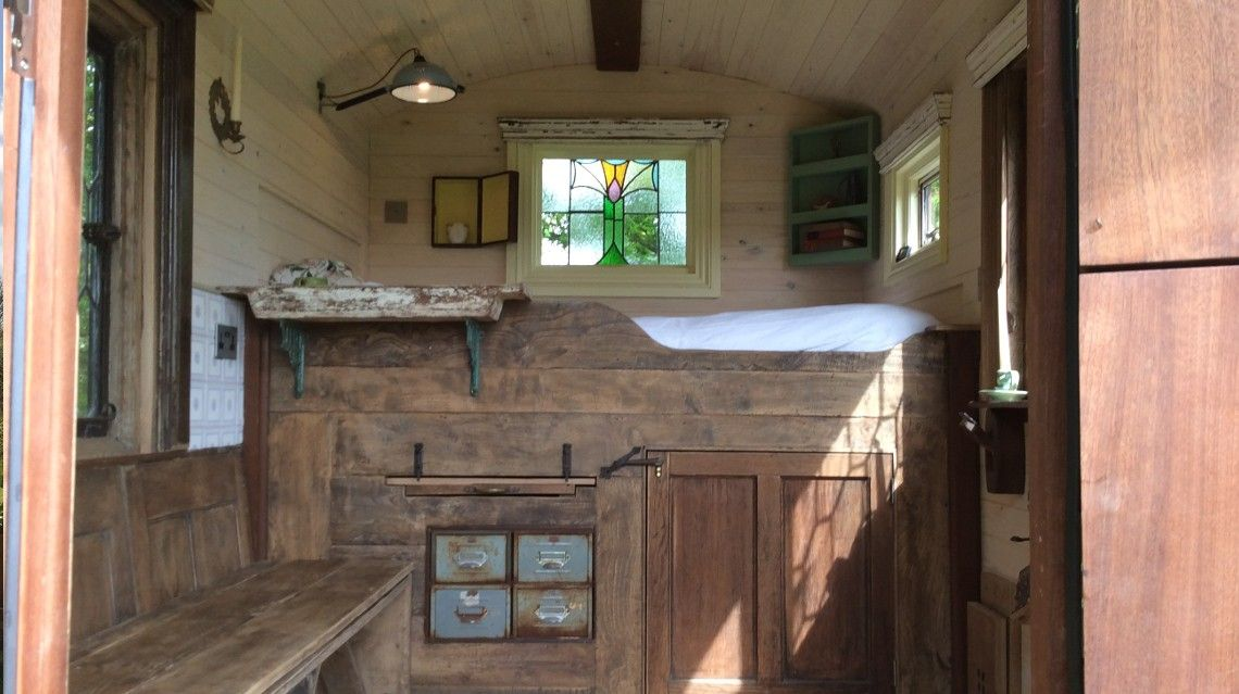 One Of The 8 Most Wonderful Shepherd Huts In The Uk Shepherds Hut Hut Tiny Houses For Sale