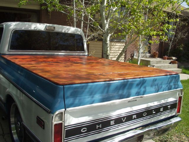 Homemade Tonneau Cover The 1947 Present Chevrolet Gmc Truck Message Board Network Truck Bed Covers Diy Truck Bedding Tonneau Cover