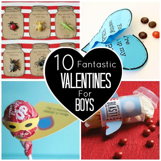 10 fantastic valentines for boys or an 8 year old girl named lacey - Boy Valentines