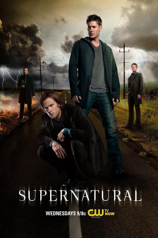 Supernatural Wall Poster 40x60cm Goruntuler Ile Castiel