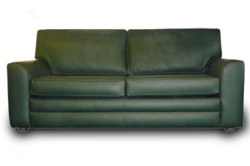 Hunter Green Leather Sofa – Thesofa