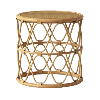 Rattan Side Table In 2020 With Images Round Side Table Rattan