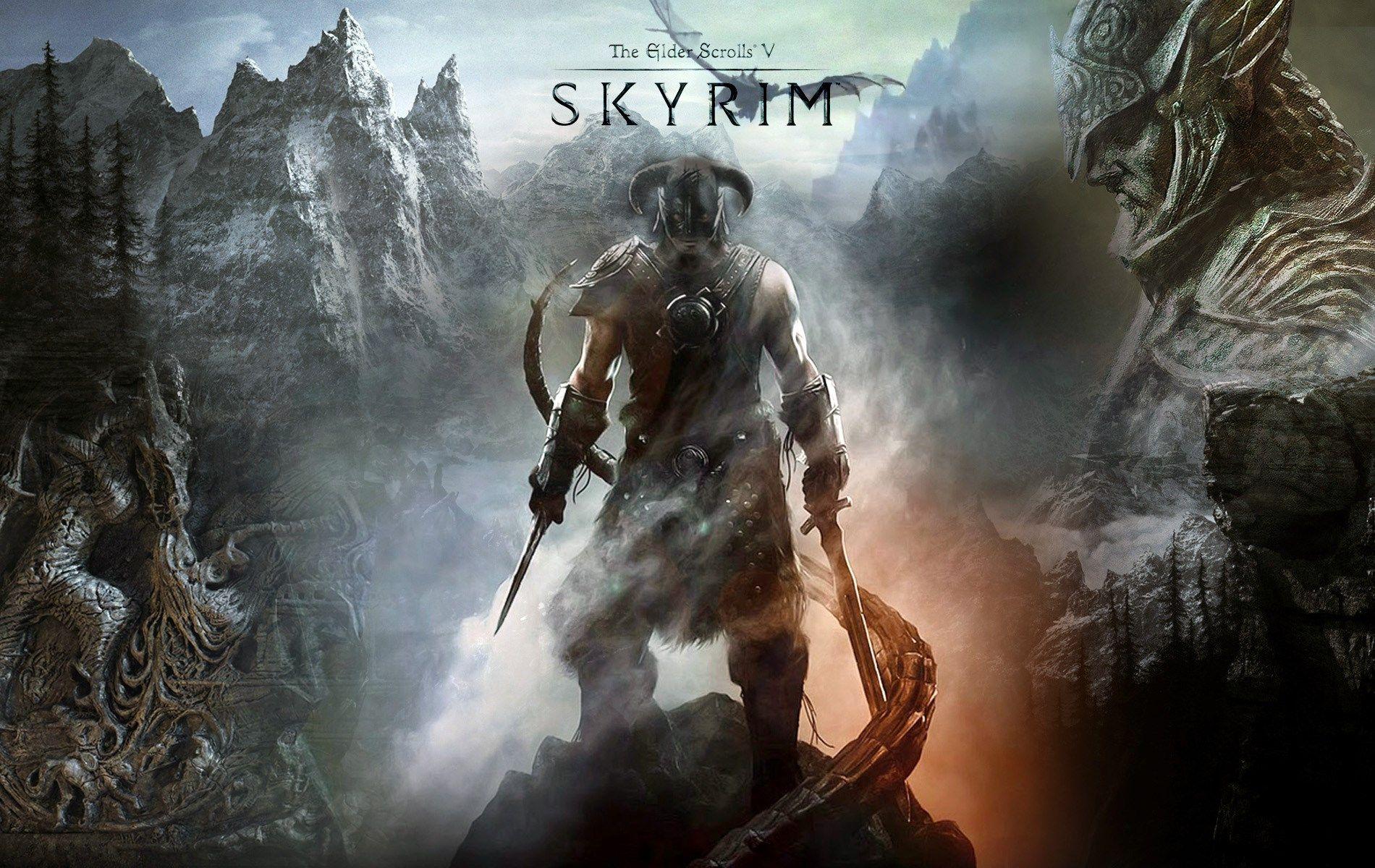 The Elder Scrolls V Skyrim Hd Wallpaper Skyrim Skyrim Xbox Elder Scrolls