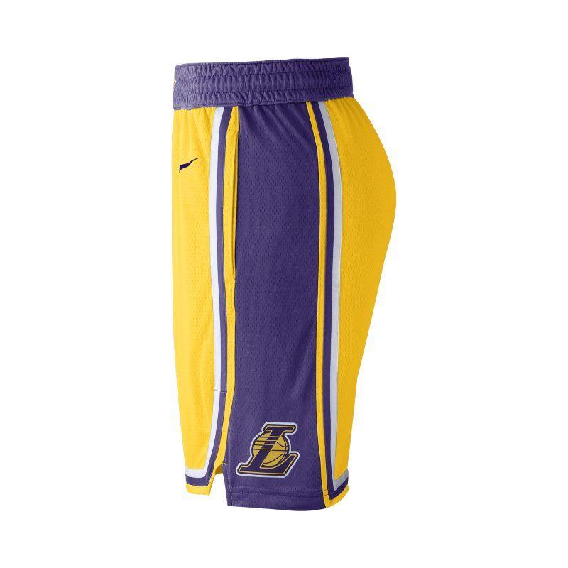 Los Angeles Lakers Icon Edition Swingman Men S Nike Nba Shorts Nike Gb Nike Men Nike Gold Los Angeles Lakers