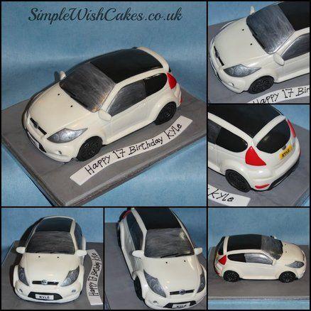 Ford Fiesta St Cake By Stef And Carla Simple Wish Cakes Verjaardag