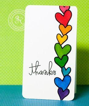 Rainbow bright – Jennifer McGuire Ink