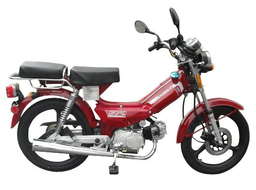 SSR Lazer 5 Moped | Camping | 49cc moped, Moped scooter