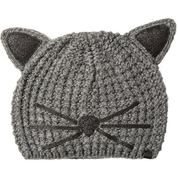 Cat Beanie Metallic Karl Lagerfeld