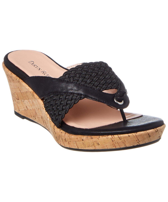 dfa5c6bde58 TARYN ROSE Taryn Rose Kijani Suede Wedge Sandal .  tarynrose  shoes  pumps    high heels