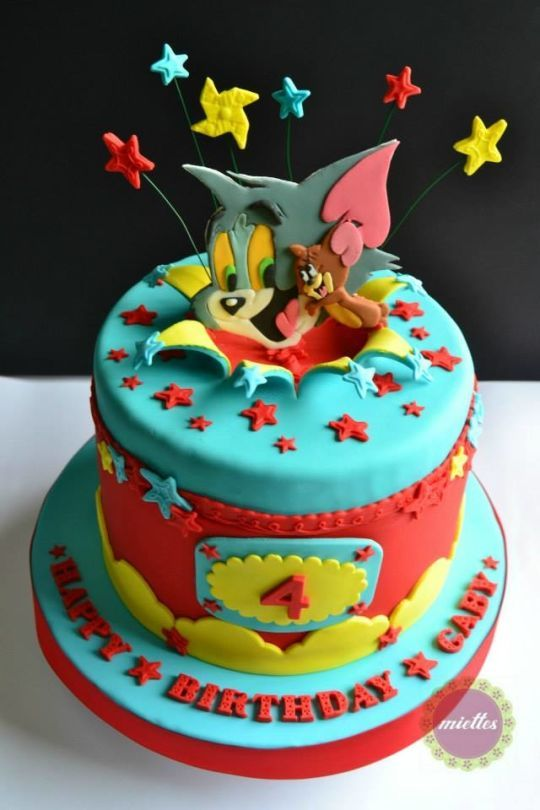 Tom Jerry AllStar Birthday Cake COOL CHILDRENS CAKES