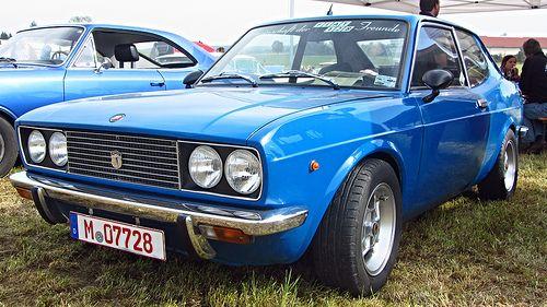 Fiat 128 Coupe Fiat Fiat Abarth