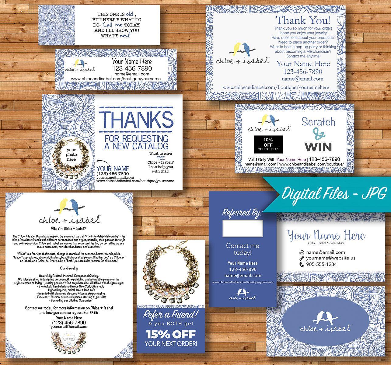 Chloe And Isabel Merchandiser Bundle Doodle Custom Etsy Vistaprint Thank You Cards Custom Business Cards Printing Business Cards