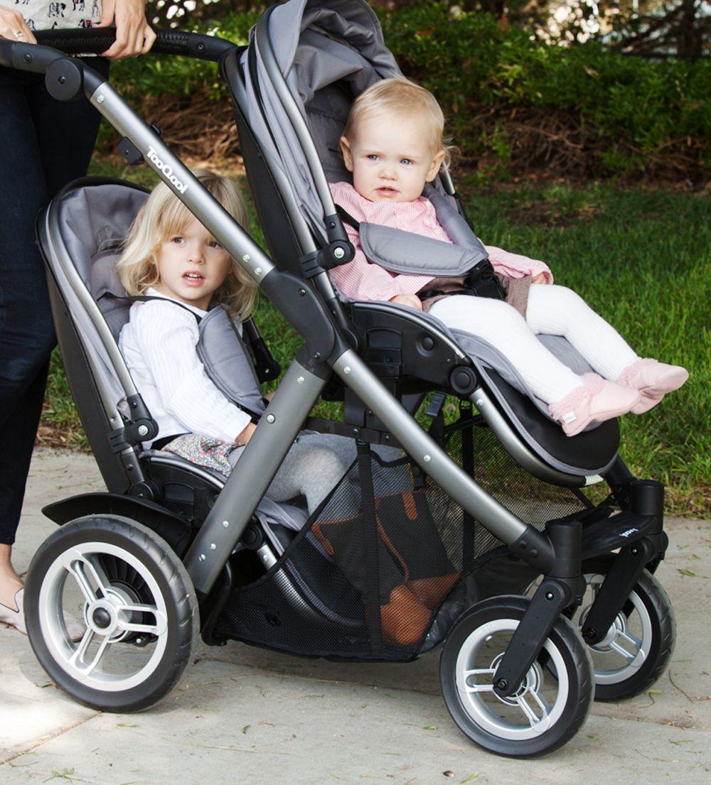 Too Qool on nice tandem stroller. Tandem