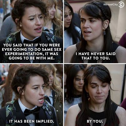 For Anyone Currently Falling In Love With Ilana Glazer Broad City Quotes Broad City City Quotes