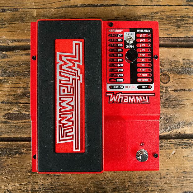 DigiTech Whammy 5 Pitch Shift Pedal in 2019 | Pedals | Pitch, Tom