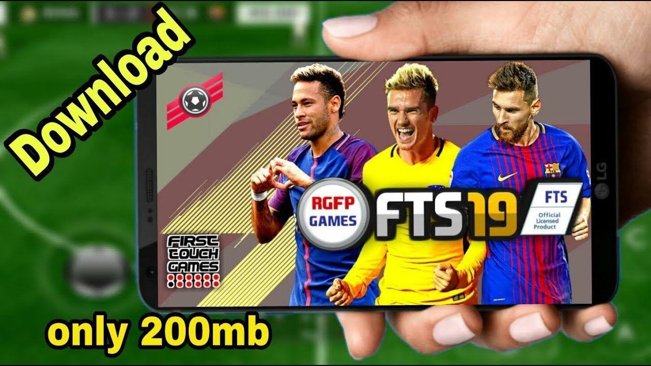 Fts19 mod offline apk data 200mb download android mobile