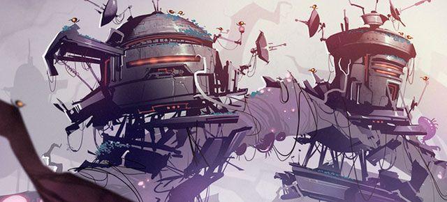 Mais artes de Ratchet and Clank, por Creaturebox