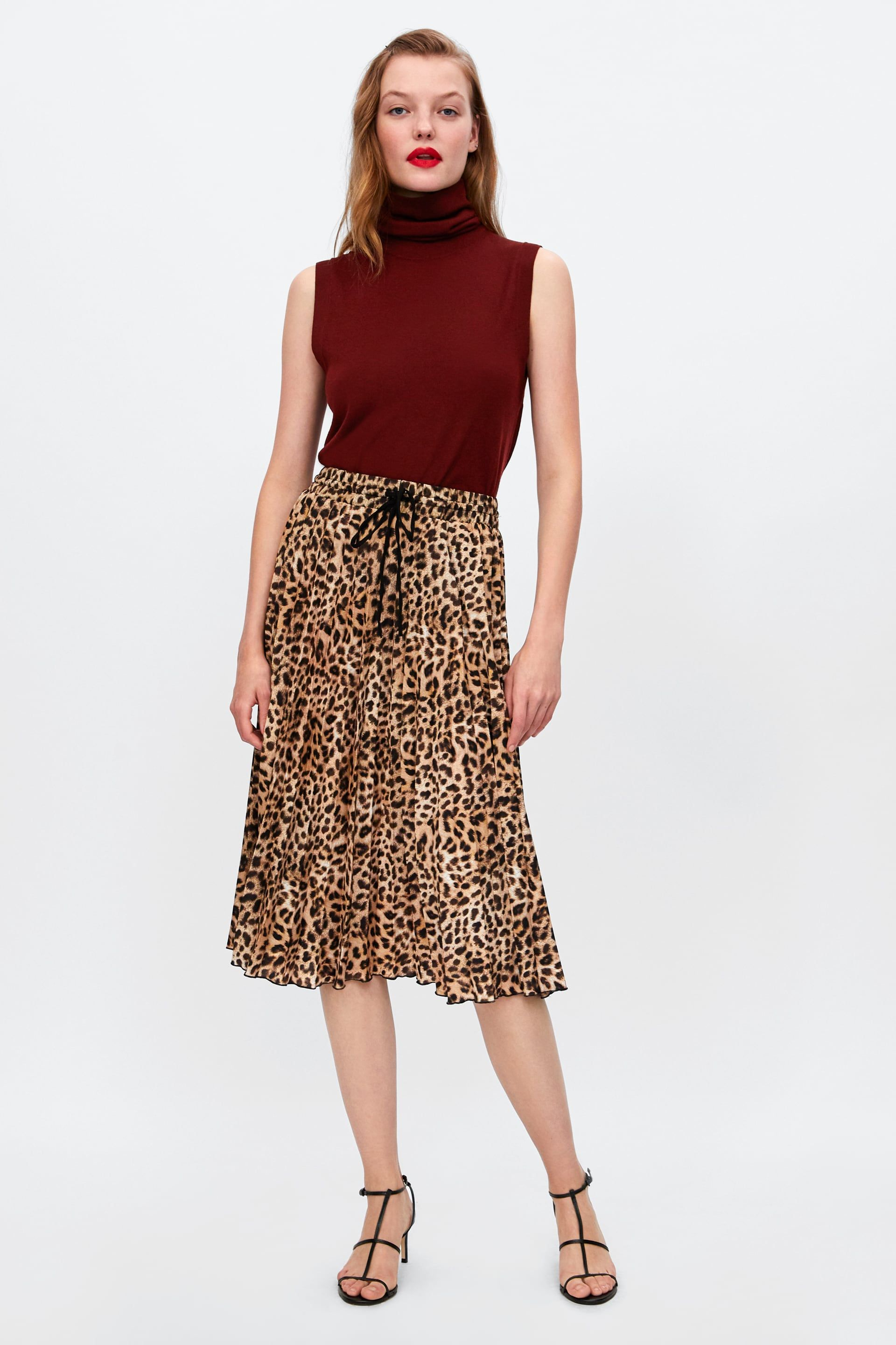 34e3cabab FALDA ESTAMPADO ANIMAL in 2019 | JUMA by JUMA | Animal print skirt ...