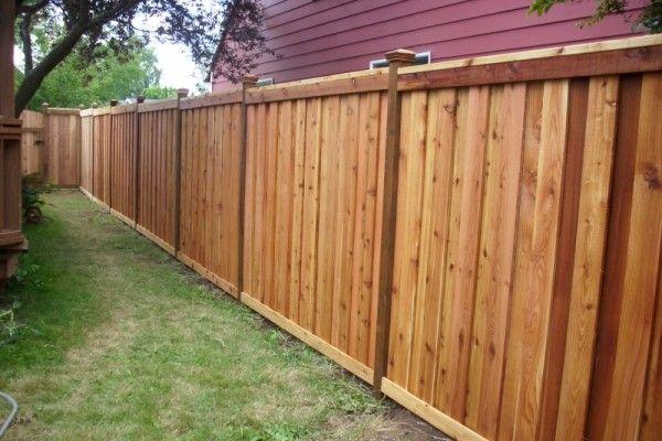 Cedar Privacy Fence Home Fences Pinterest Fence