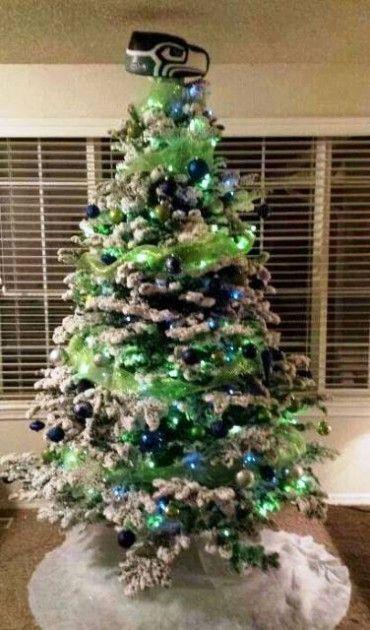 Seahawks Christmas Tree.Seahawks Tree Seattle Seahawks Seahawks Gear Seahawks