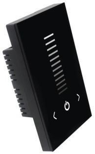 Tm120u Ac90 240v 50hz 60hz 1channel America Standard Touch Panel Led Dimmer 0 10v Output Signal Led Dimmer Led Track Lighting Led Controller